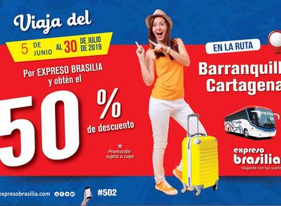 Viaja de Barranquilla a Cartagena