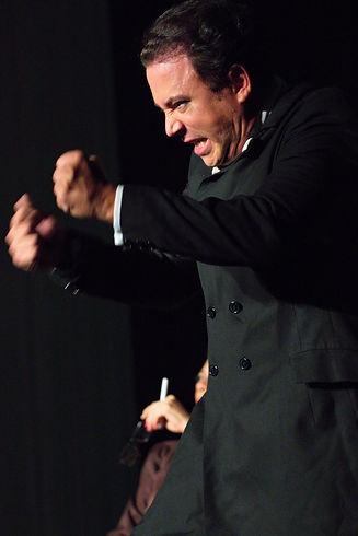 Fausto Rojas en e papel de Jacobito de Lara