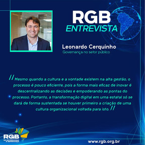 Leonardo Cerquinho destaca transformação digital na governança corporativa
