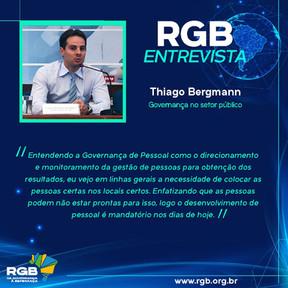 A necessidade de colocar pessoas certas em locais certos, diz Thiago Bergmann