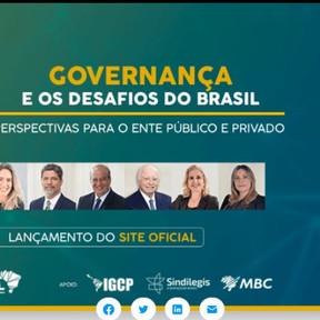 Debate sobre os desafios da governança no Brasil marca os dois anos da RGB