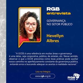 Hevellyn Albres compartilha conhecimentos sobre gestão, compliance e integridade