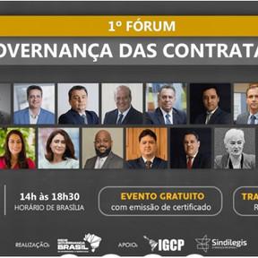 RGB convida para o 1º Fórum de Governança em Contratações