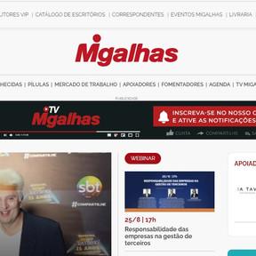 RGB terá divulgação de artigos no portal Migalhas