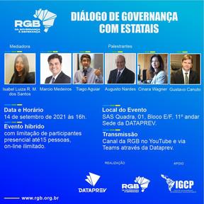 RGB e Dataprev  promovem debate sobre boas práticas de governança e integridade em estatais