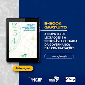 Lançamento de E-book marca primeiro dia do Fórum de Governança em Contratações