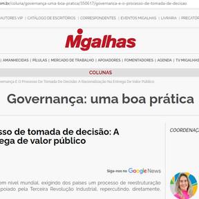 RGB inaugura coluna sobre governança em portal jurídico