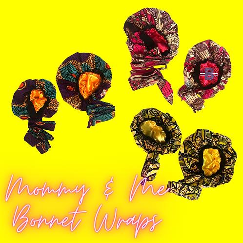 Mommy & Me Bonnet Wraps