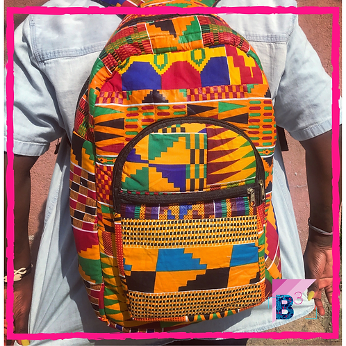 Standard Ankara Backpacks