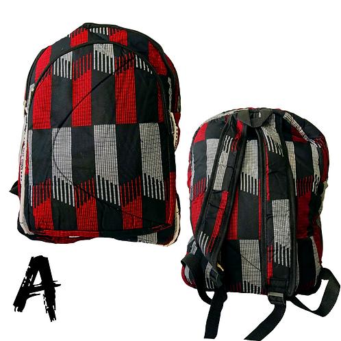 Small Ankara Backpacks