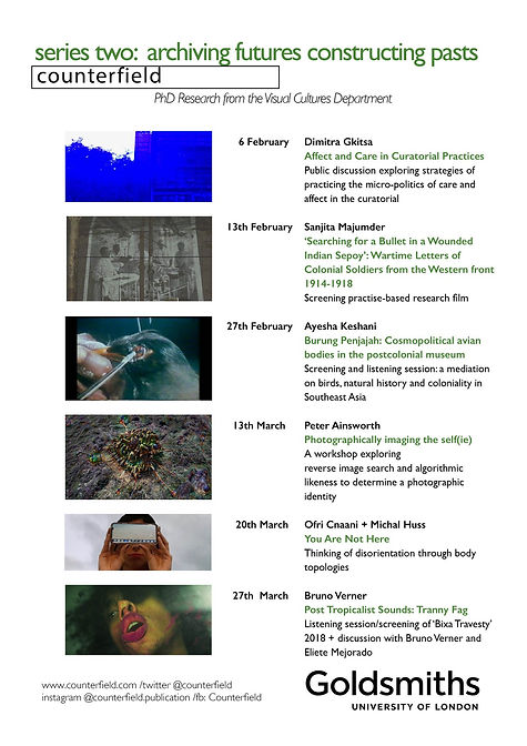 ounterfield SeriesTwo: Archiving Futures, Constructing Pasts