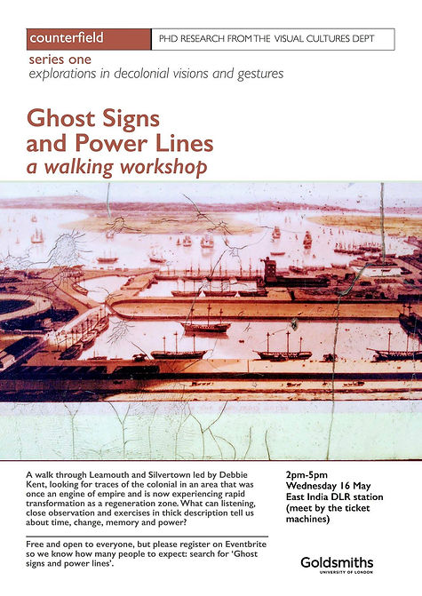 Ghost Signs and Power Lines