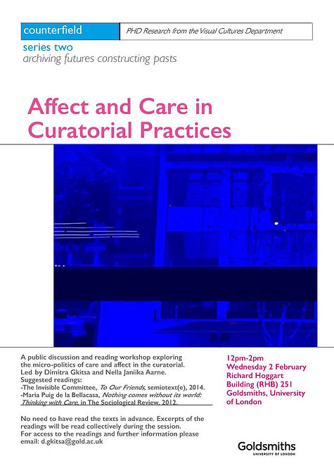 Affect and Care in Curatorial Practices.