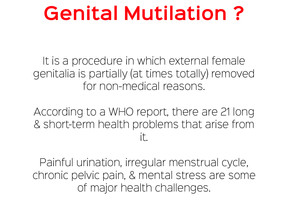 What you don't know about Female Genital Mutilation