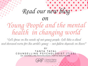 Young People and the mental health in changing world
