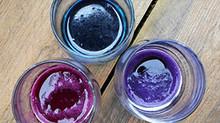 Le jus de choux rouge, la peinture magique!