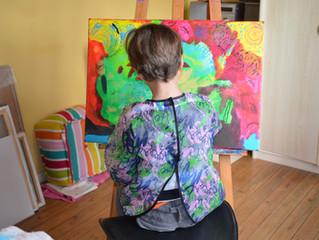 5 raisons de peindre avec son enfant  (ou celui de quelqu'un d'autre, ça marche aussi)
