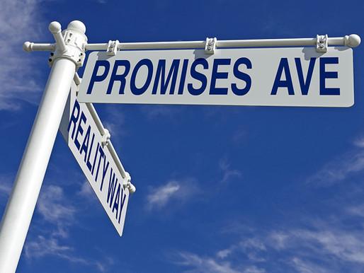 Expectativas y promesas
