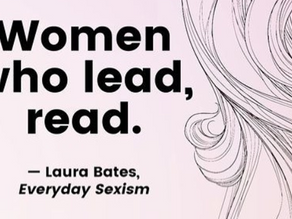 Women who lead, read.