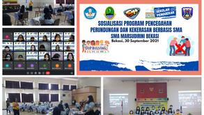 Sosialisasi Perundungan di SMA Marsudirini Bekasi