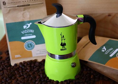 מארז קפה ומקינטה צבעונית