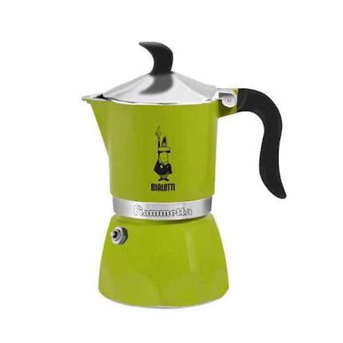 מקינטה 3 כוסות צבע ירוק - BIALETTI FIAMMETTA