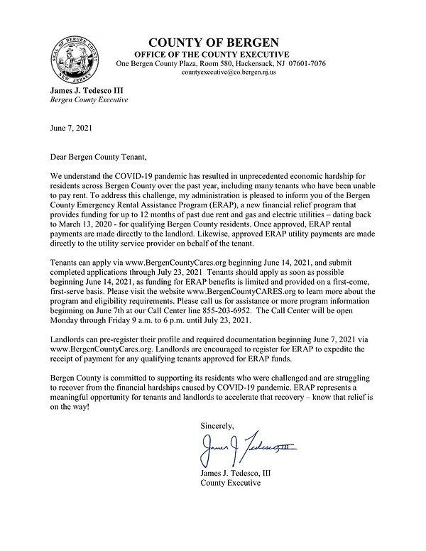 Bergen County Rental Relief Program_Lett