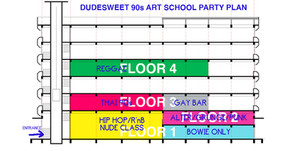 เผยลายแทงปาร์ตี้ Dudesweet 90s ศุกร์นี้ เพราะเหมาทั้งตึก แล้วตึกมันใหญ่