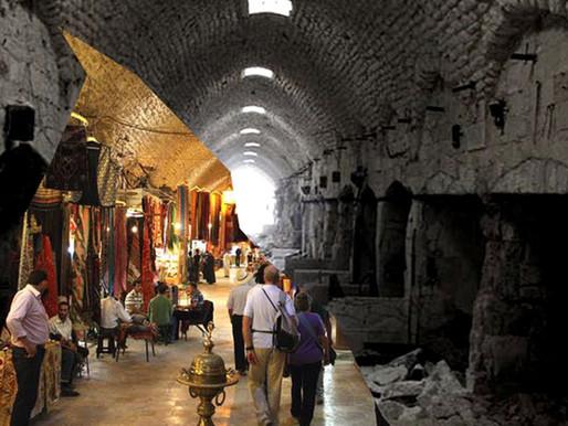 ภาพเปรียบเทียบก่อน-หลัง ความพินาศ ณ เมือง Aleppo