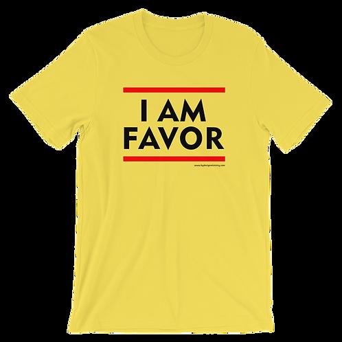 I AM FAVOR t-shirt