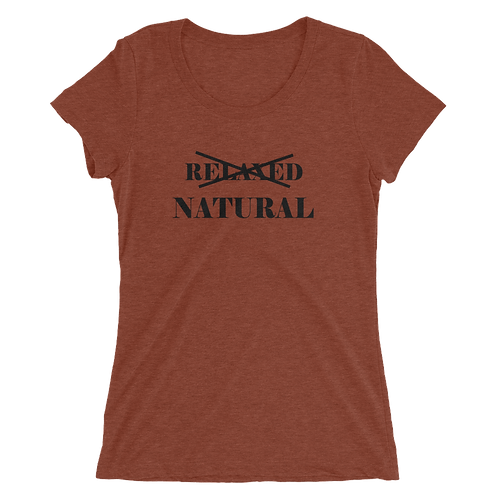 Natural Not Relaxed Tee