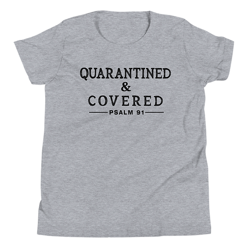 Quarantined & Covered Kids Tee