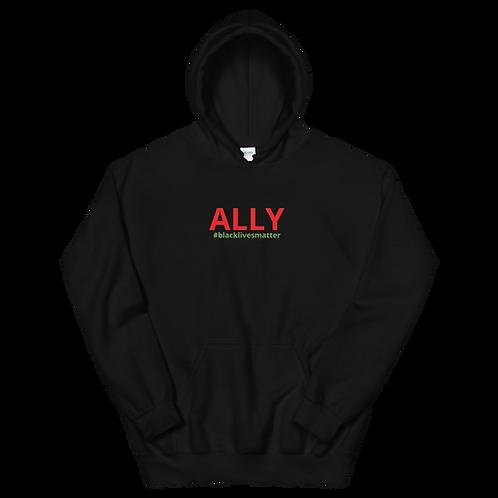 Ally #blacklivesmatter Hoodie