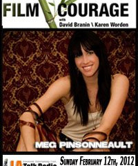Meg Pinsonneault on Film Courage Podcast!