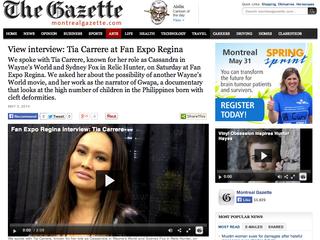 Tia Carrere Mentions Gwapa Film at Press Junket!