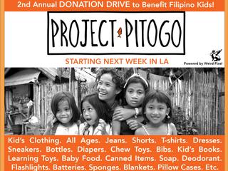 Donation Drive Starts Next Week in LA!