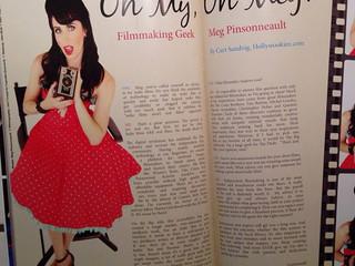Meg Featured in Cupcake Quarterly Magazine!