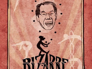 """Official Film Poster for """"Bizarre: A Circus Story"""""""