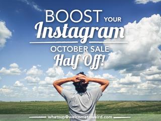 October Instagram Deals!
