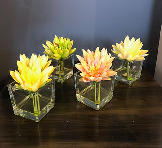 Real Touch Lotus Flowers, Water Illusion