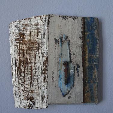 Holz und Eisen Abstrakt