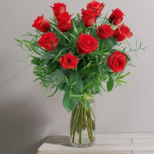 Bouquet rouge intense tout simplement