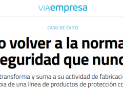 The digital newspaper VIAEMPRESA interviews Probex