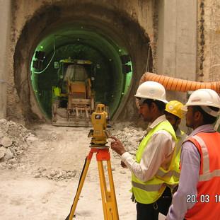 Step Main Trunk (T - 01) Tunnel - Abu Dhabi / UAE