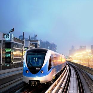 Dubai Metro project - Red Line - Dubai / UAE