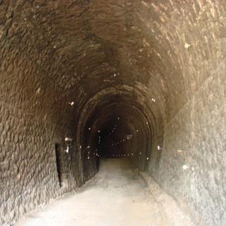 Ag. Stefanos, rail tunnel