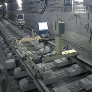 Athens Metro slab track
