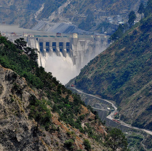 Baglihar Dam - India