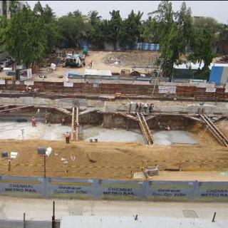 Chennai Metro, Package: UAA-03 - Chennai / India