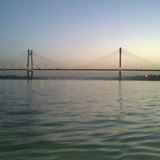 Yamuna Bridge, Naini-Allahabad, Allahabad / India